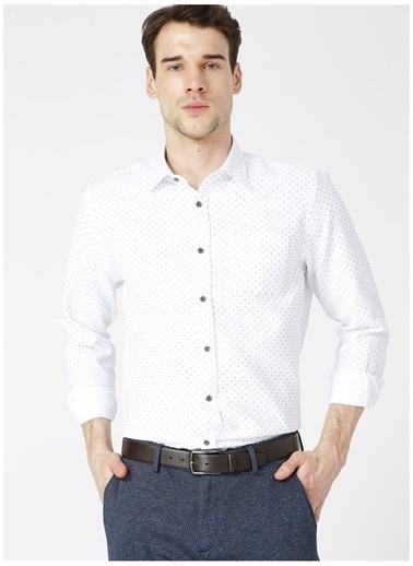 Fabrika Comfort Fabrika Comfort Ryan 1 Beyaz Erkek Gömlek Beyaz